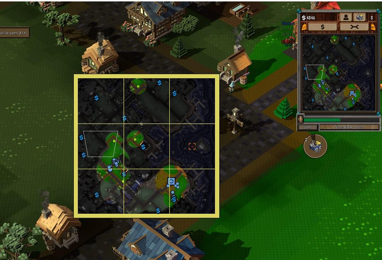 Test 8-Bit Hordes : Utilisation de la carte