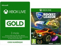 Abonnement de 3 mois Xbox Live + Rocket League