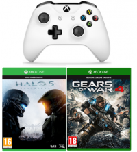 Manette Xbox One + Halo 5 + Gears Of War 4