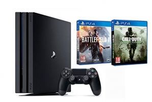 [Prime] Console PS4 Pro - 1To + Battlefield 1 + Call of Duty: Modern Warfare Remastered