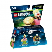Figurines Lego Dimensions - Krusty Le Clown ou Legolas