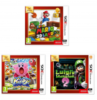 [CDAV] Super Mario 3D Land / Kirby : Triple Deluxe  / Luigi's Mansion 2 - Nintendo Selects