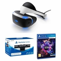 Casque Playstation VR + Camera + VR Worlds - (via mobile)
