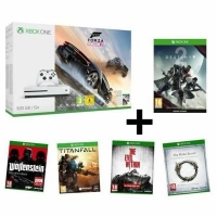 bon plan console xbox one s 500go forza horizon 3 destiny 2 wolfenstein titanfall. Black Bedroom Furniture Sets. Home Design Ideas