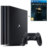 Console PS4 Pro - 1To + Injustice 2