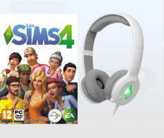 Les Sims 4 + Casque Filaire SteelSeries Sims 4