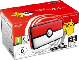 New Nintendo 2DS XL - Édition Poké Ball