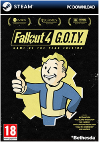 Fallout 4 - Game Of The Year Édition (Code - Steam)