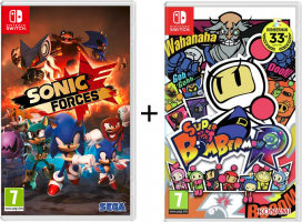 Sonic Forces + Super Bomberman R