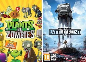 Star Wars: Battlefront / Plants Vs Zombies Garden Warfare (Code - Origin)