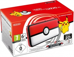 New Nintendo 2DS XL - Edition Poké Ball