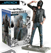 Figurine Watch Dogs 2 - The Wrench (24cm)
