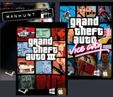 Humble Bundle Rockstar (Manhunt + GTA Vice City + GTA III) - Steam