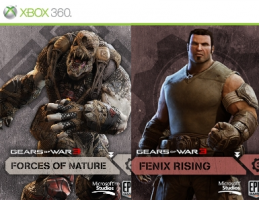 Packs de cartes Gears Of War 3 : Fenix Rising / Forces Of Nature
