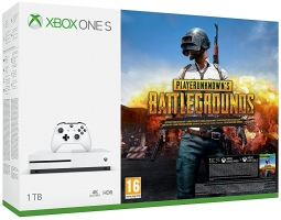 Console Xbox One S - 1To + PlayerUnknown's Battlegrounds / l'Ombre de la Guerre / Minecraft