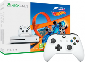 Console Xbox One S - 1To + Assassin's Creed Origins + Rainbow Six Siège / PlayerUnknow's Battlegrounds / Forza Horizon 3 + Hot Wheels