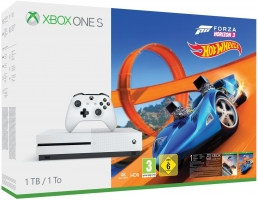 Console Xbox One S - 1To +  Forza Horizon 3 + Hot Wheels (DLC)