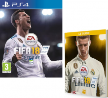 FIFA 18 + Guide Officiel + 10€ Offerts