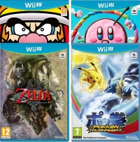 Pokkén Tournament / Game & Wario / The Legend of Zelda : Twilight Princess HD / Kirby et le Pinceau Arc-en-Ciel / Star Fox Zero / Mario Tennis Ultra Smash... (Vitry sur Seine - 94)