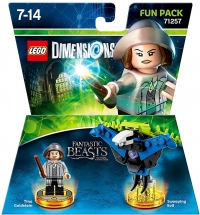 Pack 2 Figurines Lego Dimensions - Héros Fantastic Beasts