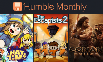 Humble Monthly : Conan Exiles +  A Hat in Time + The escapists 2