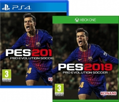 PES 2019 + 2€ Offerts