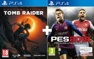 Shadow Of The Tomb Raider + PES 2019