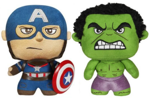 Peluche Hulk / Captain America Fabrikation by Funko