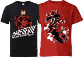 Sélection de T-Shirts DareDevil
