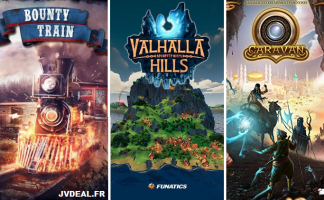 Bounty Train + Valhalla Hills + Caravan (Steam - Code)
