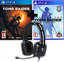 Micro-Casque - Tritton Kunai + Shadow of the Tomb Raider + Rise of the Tomb Raider - 20ème Anniversaire
