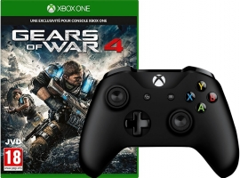 Manette pour Xbox One / PC + Gears of War 4 (Code)