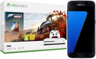 Smartphone Galaxy S7 (Noir) + Console Xbox One S - 1To + Forza Horizon 4