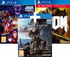 Monster Hunter World + Marvel vs Capcom Infinite + Doom - UAC Pack