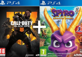 Call of Duty Black OPS 4 + Spyro Reignited Trilogy