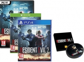 Resident Evil 2 + Chargeur Portable à Induction + 10€ Offerts
