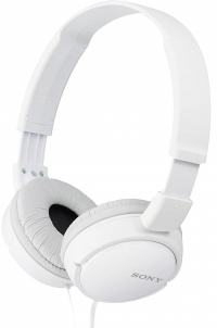 Casque - Sony MDR-ZX110B - Pliable (Blanc)
