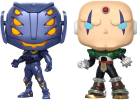 Figurines Funko Pop - Marvel vs Capcom Infinite - Ultron et Sigma