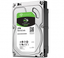 Disque Dur - Seagate BarraCuda 3 To - 5400 RPM (ST3000DM007)