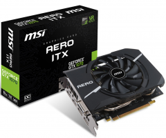 Carte Graphique MSI GeForce GTX 1070 AERO ITX 8G OC (+ 2000 V-Bucks et un pack Contre-attaque Fortnite)