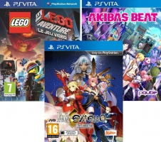 Fate/Extella : The Umbral Star / Akiba's Beat / La Grande Aventure Lego