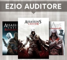 Assassin's Creed II - Deluxe Edition + Assassin's Creed Brotherhood + Assassin's Creed Revelations.