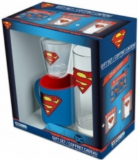 Coffret : 1 Mini Mug + 1 Verre + 1 Shooter - Superman / Game of Thrones / Overwatch