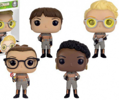 Lot exclusif 4 Funkos Pop 2016 - Ghostbusters