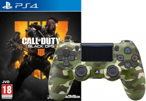 Days of Play 2019 : Manette DualShock 4 (V2 - Plusieurs Coloris) + Call of Duty Black OPS 4