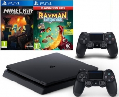 Days of Play 2019 : Console PS4 Slim - 500Go + 2ème Manette + Rayman Legends + Minecraft