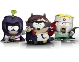 Pack de 3 Figurines South Park : Le Coon + Mystérion + Professeur Chaos