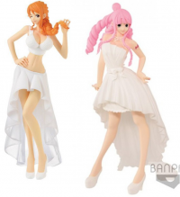 Sélection de Figurines One Piece en Promotion - Exemple : Lady Edge Wedding - Nami ou Perona (23cm)