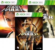 Tomb Raider : Anniversary / Tomb Raider Legend / Tomb Raider Underworld