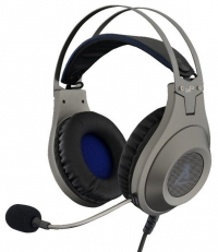 Micro-casque Gaming - The G-Lab Korp Chromium (Silver)